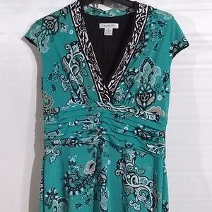 Liz Claiborne Sleeveless Dress Size 12